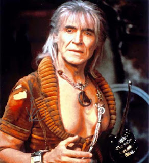 Ricardo Montalban as Khan from Star Trek II: The Wrath of Khan