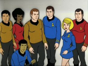 Star Trek: The Animated Series crew