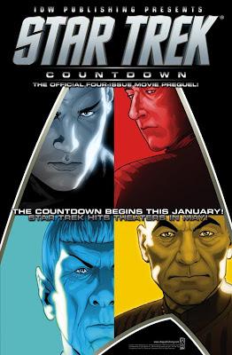 Star Trek: Countdown trade paperback cover