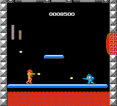 Mega Man vs. Metroid screenshot