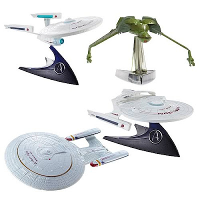 Hot Wheels Star Trek ships