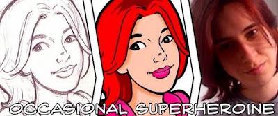 Occasional Superheroine banner