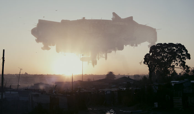 District 9 alien ship