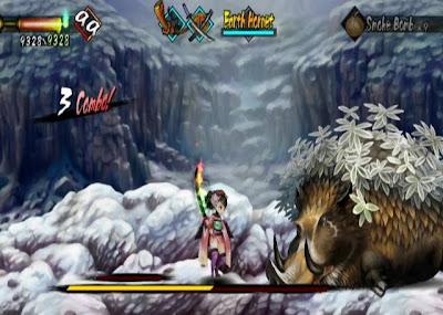 muramasa boss battle screenshot
