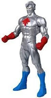 Captain Atom silver suit action figure