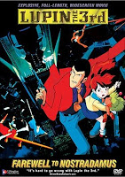 Lupin III: Farewell to Nostradamus DVD cover