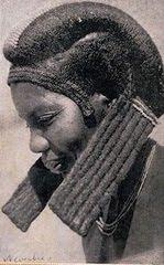 Penteado mulher dongue