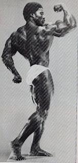 ROBBY ROBINSON - BODYBUILDING LEGEND - ROBBY ROBINSON AT 29 - REAR BICEP CURL 1975  WWW.ROBBYROBINSON.NET