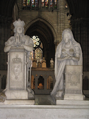 Just another american in paris basilica of st denis - Marie antoinette grave ...