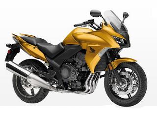 The New Honda CBF1000A 2010