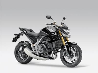 2011 Honda CB1000R Black