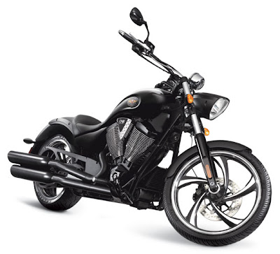 New 2011 Victory Motorcycle Vegas 8-Ball Series