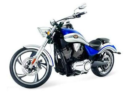 2011 Victory Motorcycle Vegas Series Two-tone Imperial Blue