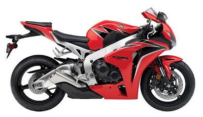 2011 Honda CBR1000RR-Red