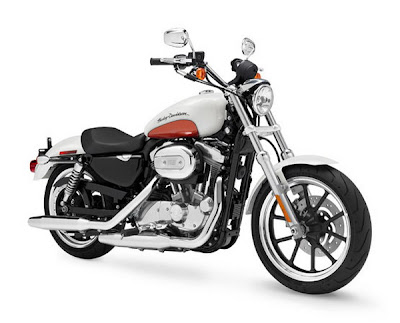 2011 Harley-Davidson XL 883L Birch White-Sedona Orange