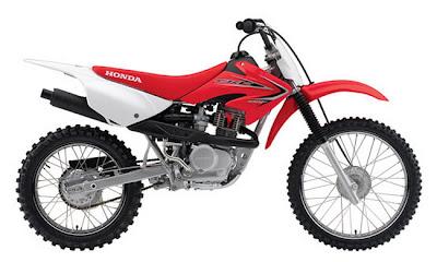 2011 Honda CRF100F Red
