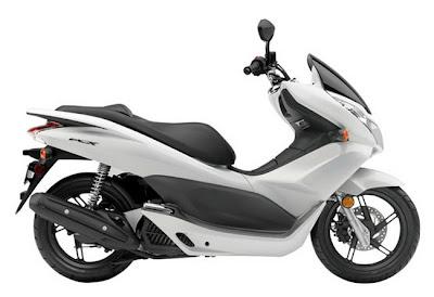 2011 Honda PCX125 white canada
