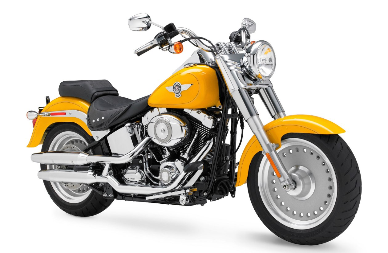 2011 Harley-Davidson FLSTF Fat Boy Model Highlights