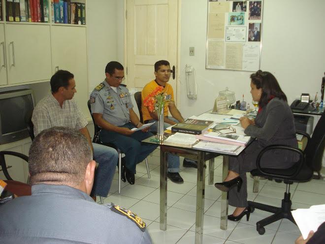 Reunião Institucional em Pinheiro