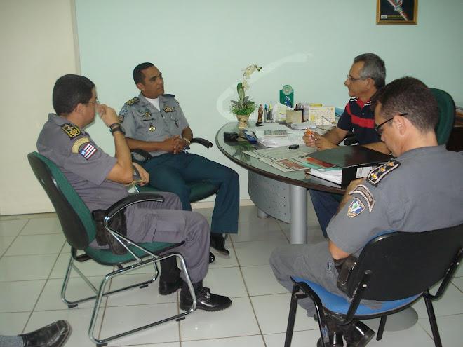 Visita ao Prefeito Municipal de Pinheiro