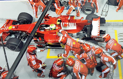 GP de Singapura de F1, Marina Bay em 2008 - uol.com.br