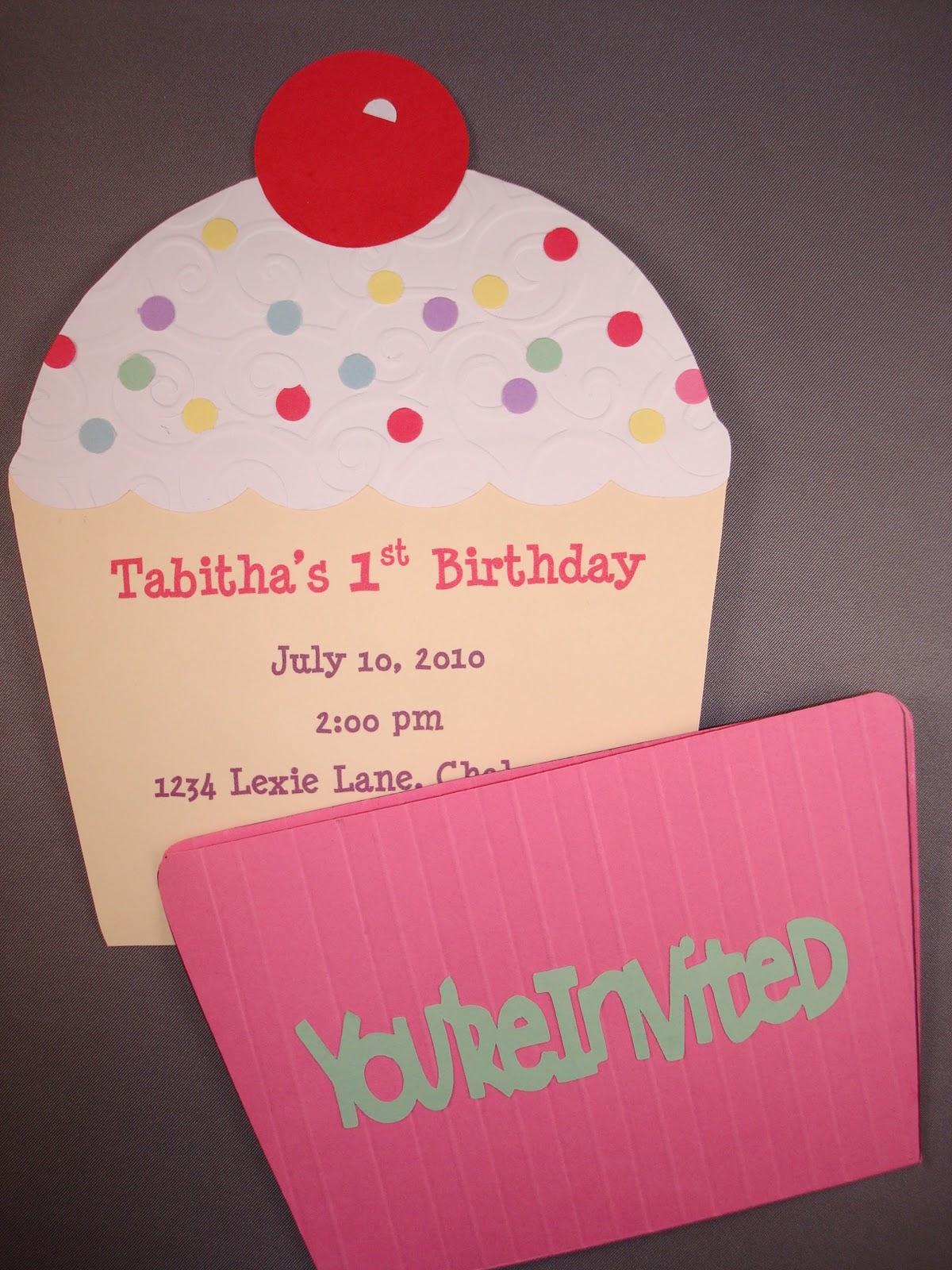 Handmade with love cupcake invite filmwisefo