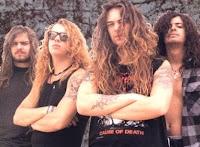 A banda na época da gravação