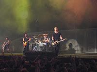 Metallica tocando em show
