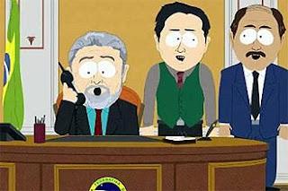 Lula em versão South Park