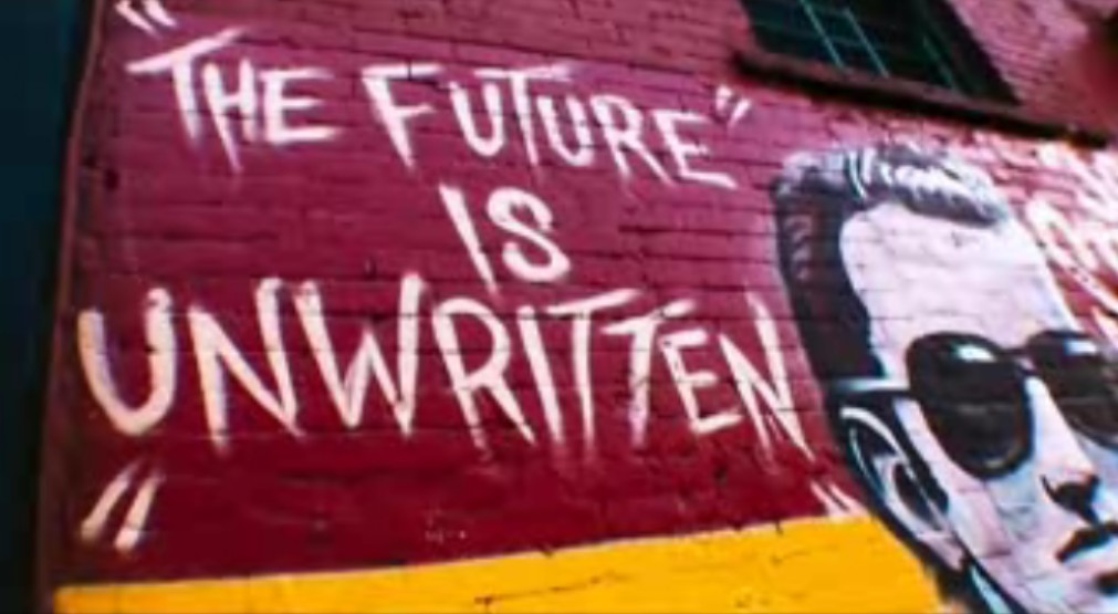 are you hearing me? : the future is unwritten