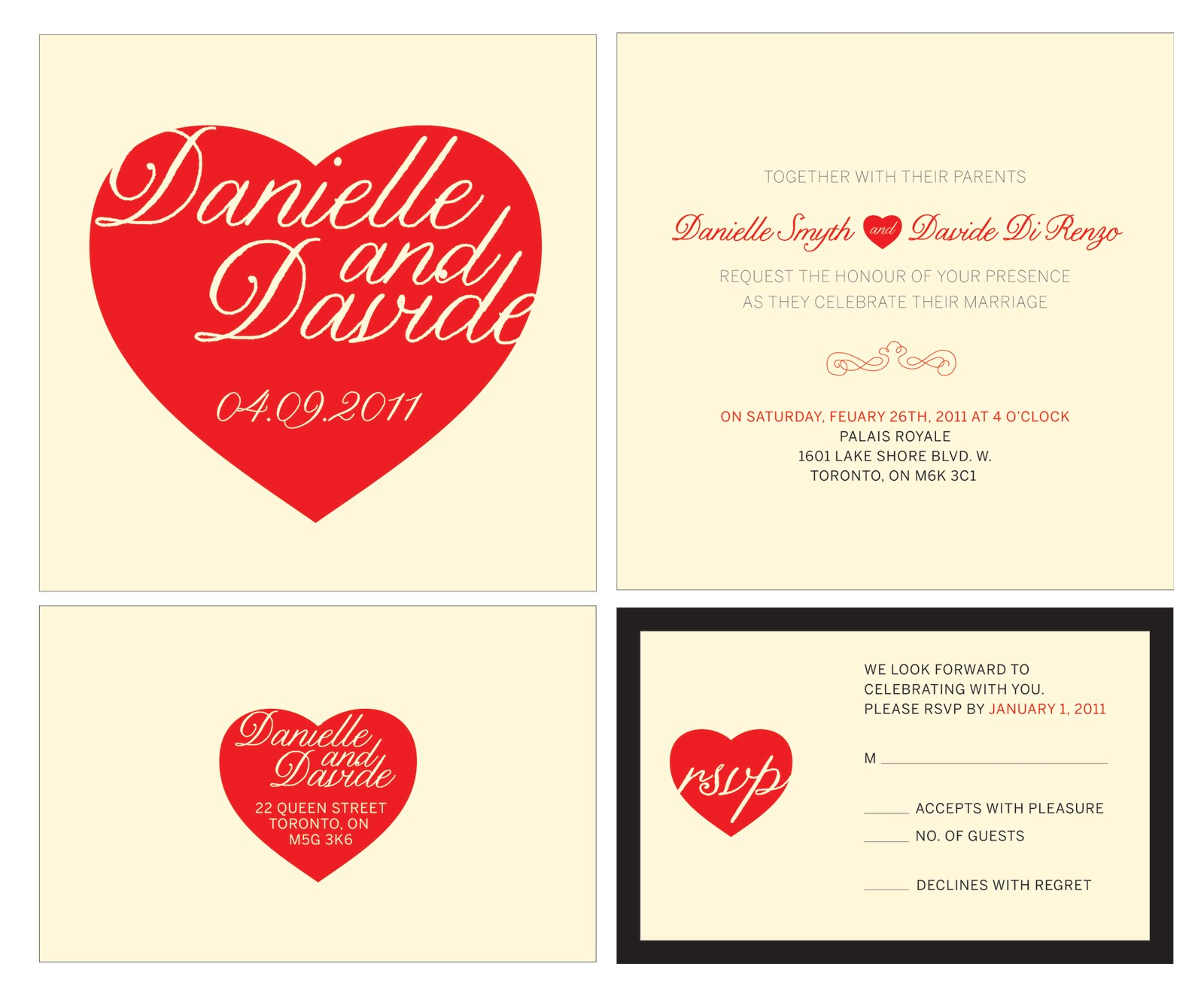 SAY I DO: wedding invite design} - The Sweet Escape Creative Studio