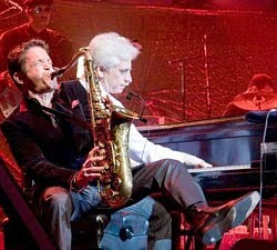 Dave Koz and David Benoit at sea