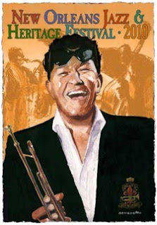 Tony Bennett poster of Louis Prima