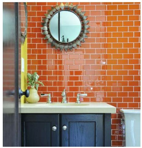 An eternal classic, subway tiles are a traditional choice that stays true  to vintages houses yet is sleek and
