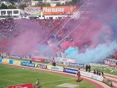 Las Hinchadas de futbol mas grandes de Sudamerica...