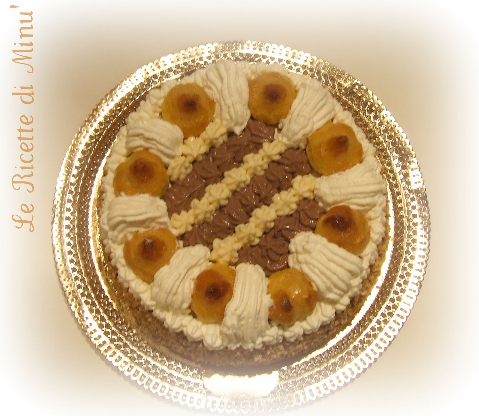 Il goloso mondo di minu 39 torta saint honor e buon for Isola di saint honore caraibi