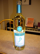 Barefoot Moscato Wine Label