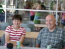 Grandpa and Grandma workin for the Lord in Green Bay Wisconsin.