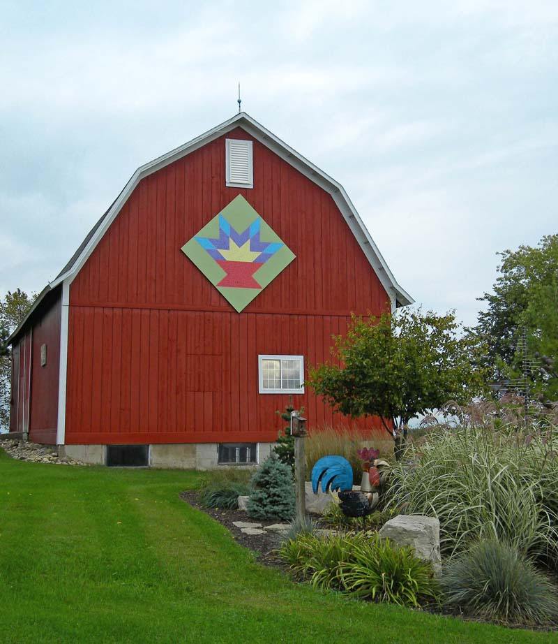 Quilt Patterns On Wisconsin Barns : Barn Quilts and the American Quilt Trail: Last Day to Play!
