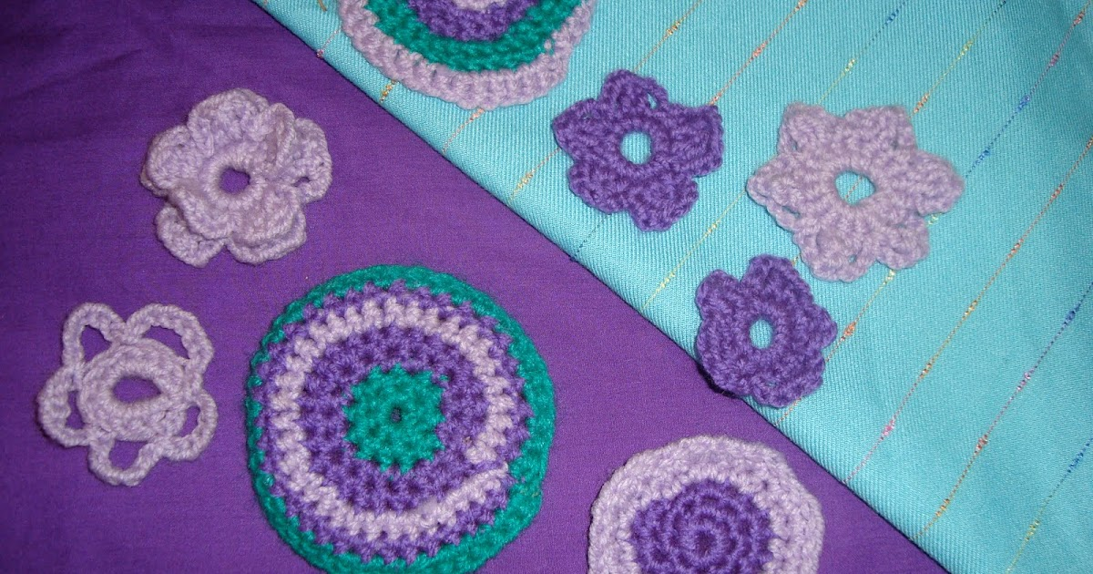 Crochet Flower Pattern Nothing Ventured...