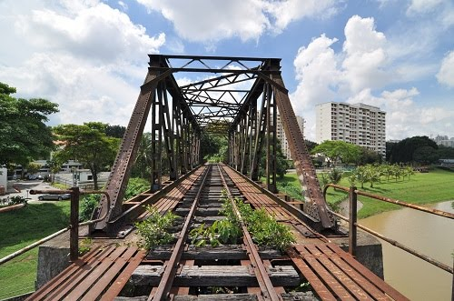 Welcome to my busybody corner...: An abandoned railway track... A photographer's paradise