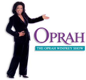 Oprah Winfrey and Oprah Show logo