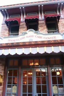 Centro de Bebés en Disneylandia