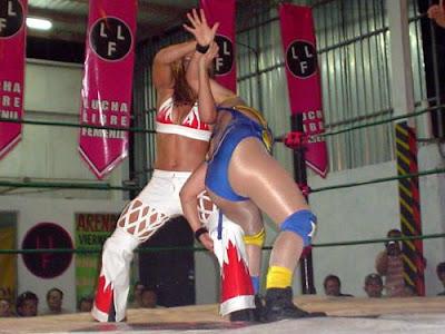 Dark Angel Wrestling in Mexico