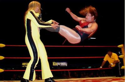 Lola Gonzalez wrestling Tiffany