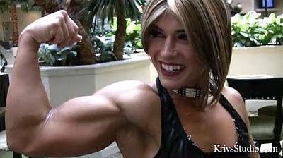 female bodybuilder Kortney Olson - KO