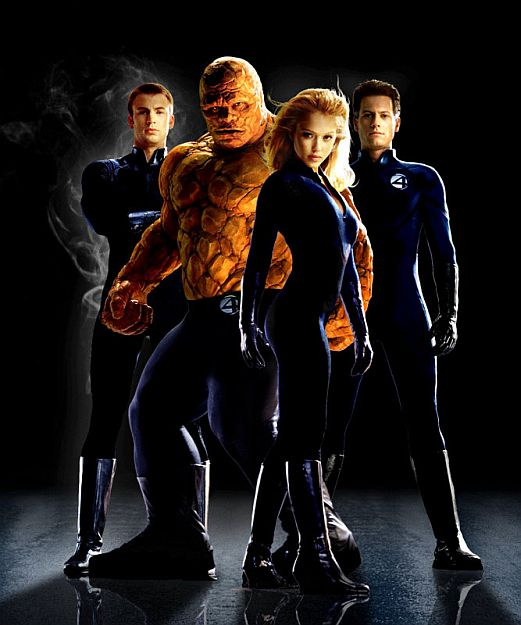Fantastic Four Movie Characters