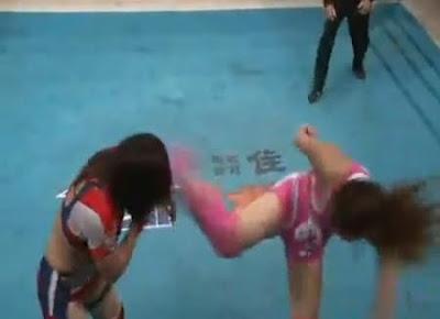 Kana - Chihiro Okawa - womens wrestling