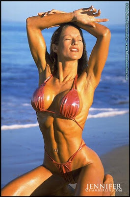 Jennifer Chamberlin - fitness models female - female fitness models