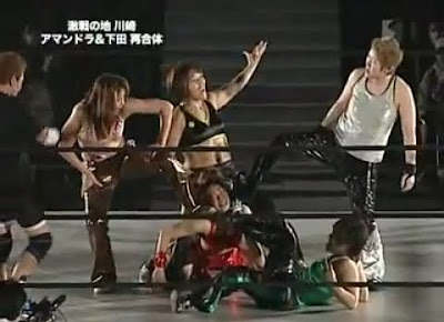 japan women - pro wrestling - japanese women wrestlers